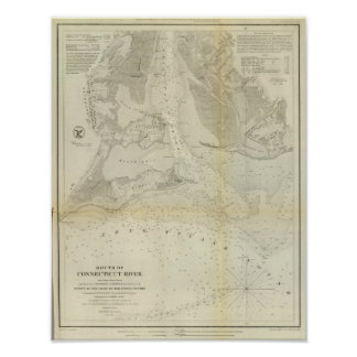Mouth Connecticut River Poster