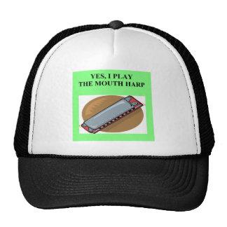 MOUTH HARP harmonica Hat