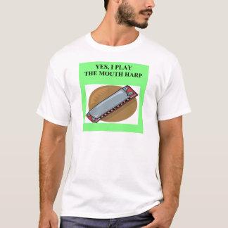 MOUTH HARP harmonica T-Shirt