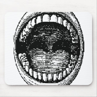 mouth mouse pad