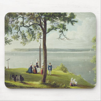 Mouth of the Seine, from 'Views on the Seine', eng Mouse Pad