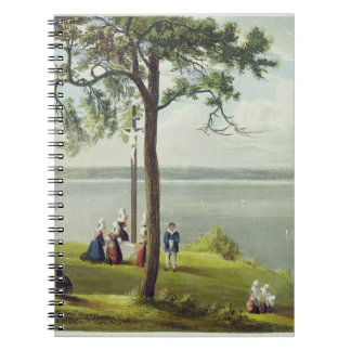 Mouth of the Seine, from 'Views on the Seine', eng Spiral Notebooks