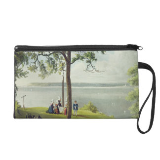 Mouth of the Seine, from 'Views on the Seine', eng Wristlet Purse