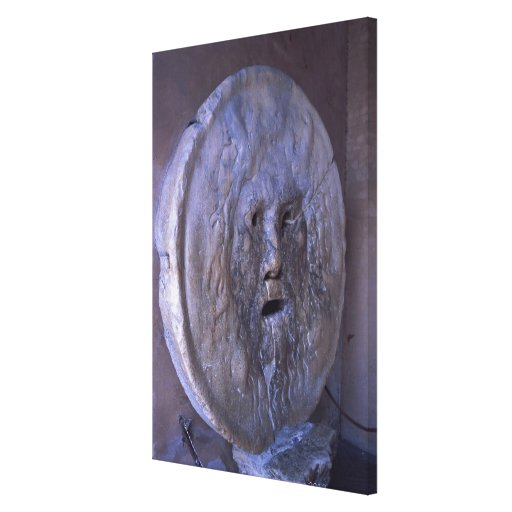 Mouth of Truth Canvas Print