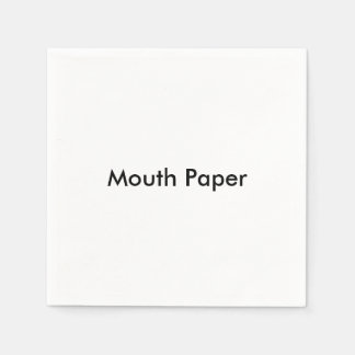 """Mouth Paper"" Paper Napkins"