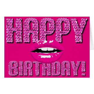 sexy birthday cards  zazzle, Birthday card