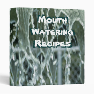 Mouth Watering Recipes Binder