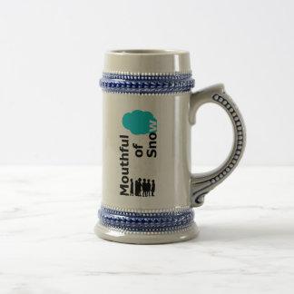 mouthful of snow coffee mugs