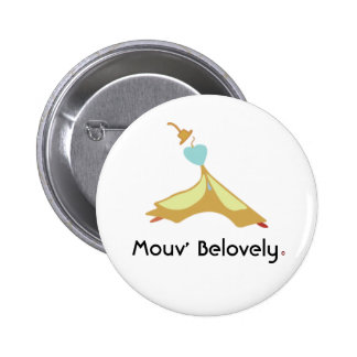 Mouv Men Belovely Pinback Buttons