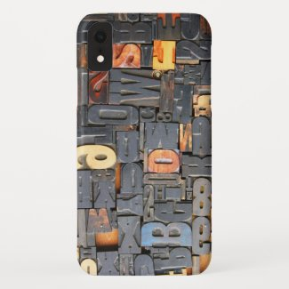 movable type Case-Mate iPhone case
