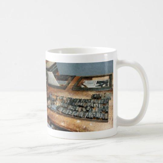 Movable Type Coffee Mug