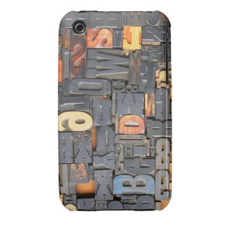 Movable Type iPhone 3 Case