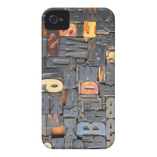 movable type iPhone 4 Case-Mate case