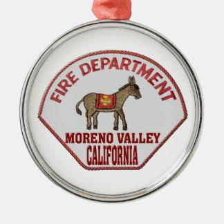 movalfire metal ornament