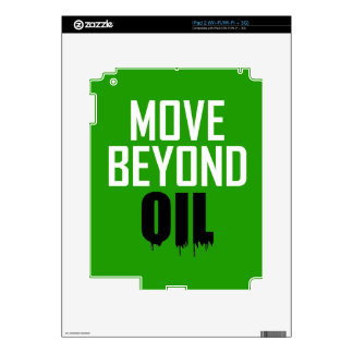 Move Beyond Oil Decal For iPad 2