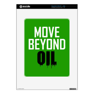 Move Beyond Oil Decals For The iPad