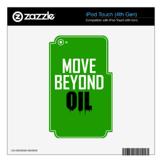 Move Beyond Oil iPod Touch 4G Decal