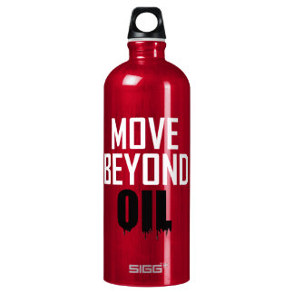 Move Beyond Oil Water Bottle