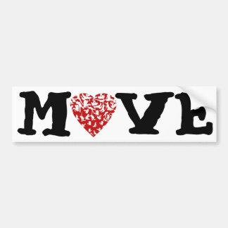 Move Bumper Sticker | Feldenkrais Heart Figures