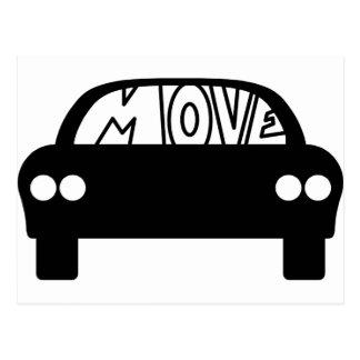 MOVE_CAR POSTCARD