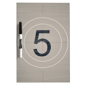 Move Countdown Dry Erase Board