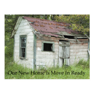 Move In Ready - Funny Change of Address Postcard