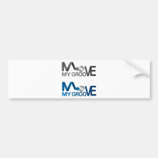 Move My Groove Merch Bumper Sticker