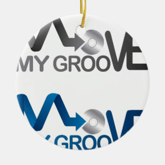 Move My Groove Merch Ceramic Ornament