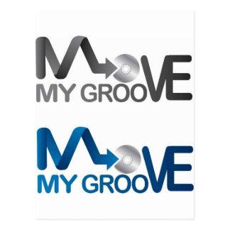 Move My Groove Merch Postcard