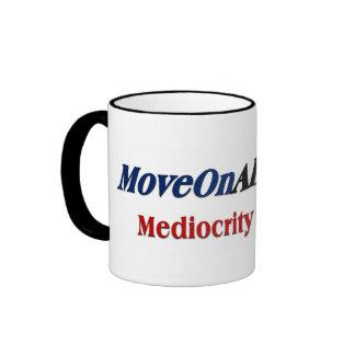 Move on Already Ringer Mug