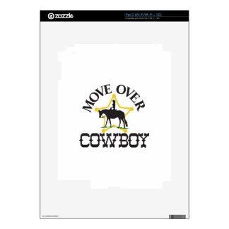 Move Over, Cowboy iPad 2 Skins