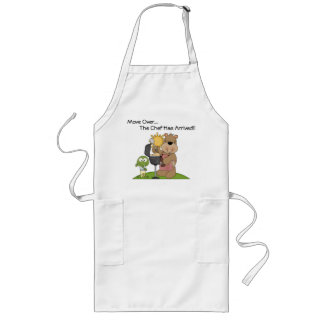 Move Over The Chef Has Arrived Long Apron