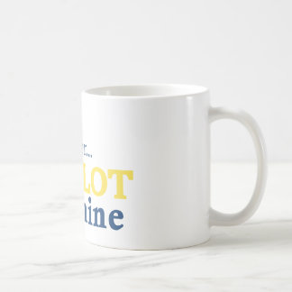 Move Over the Slot is Mine Classic White Coffee Mug