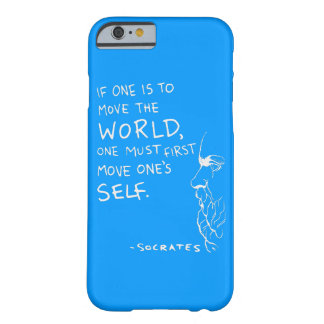 Move The World - Socrates Quote Barely There iPhone 6 Case