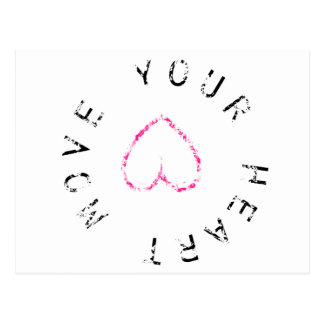 Move your Heart Postcard