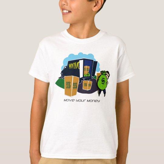 Move Your Money Campaign T-Shirt