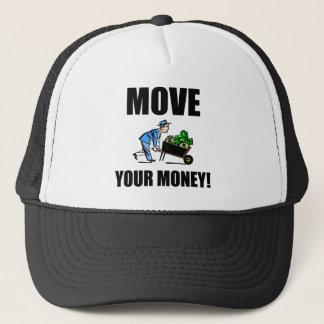 move your money trucker hat