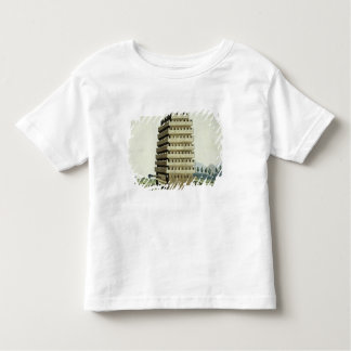 Moveable tower with outer galleries and an additio toddler t-shirt