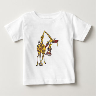 moved merry giraffe with earring tees