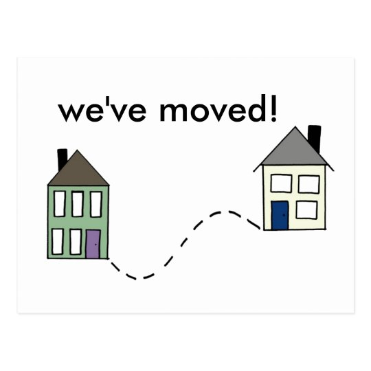 Moved! Postcard
