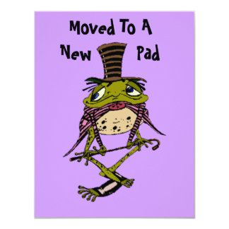 Moved To A New Pad Dapper Frog Moved Announcements