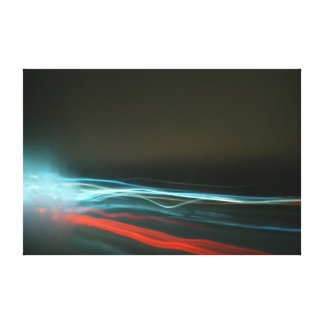 Movement, a unique piece canvas print