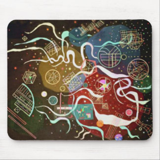 Movement I by Kandinsky Mouse Pad