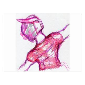 Movement of Lithe Cybernetics Postcard