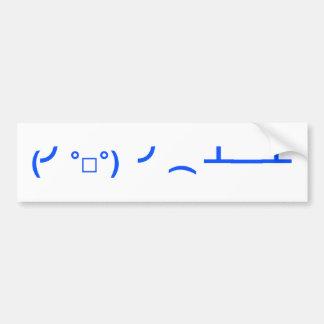 Mover de un tirón el Emoticon Meme de las tablas Pegatina Para Auto