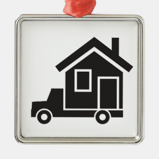 mover - relocation service - mobile home metal ornament
