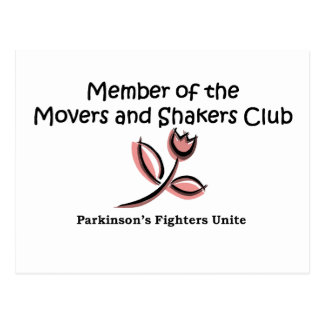 movers and shakers member postcard