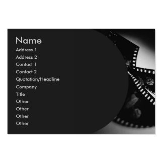 Movie #1 Profile Card Large Business Cards (Pack Of 100)