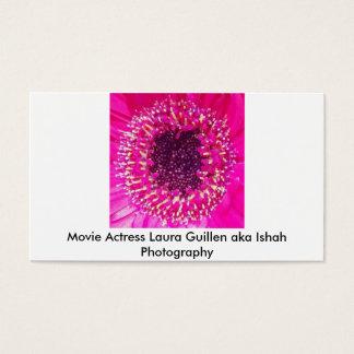 Movie Actress Laura Guillen aka Ishah Photography Business Card