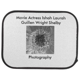 Movie Actress Laura Guillen aka Ishah Photography Car Mat